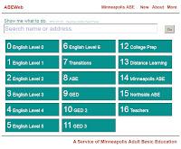 screenshot website ABE
