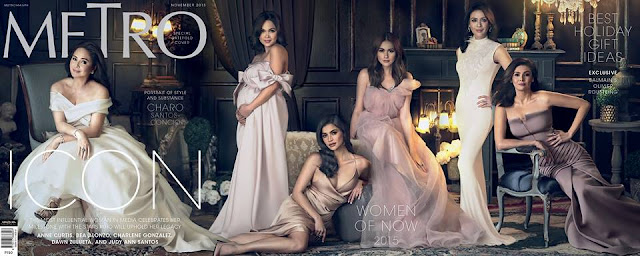 Charo Santos Concio Metro Magazine November Cover issue