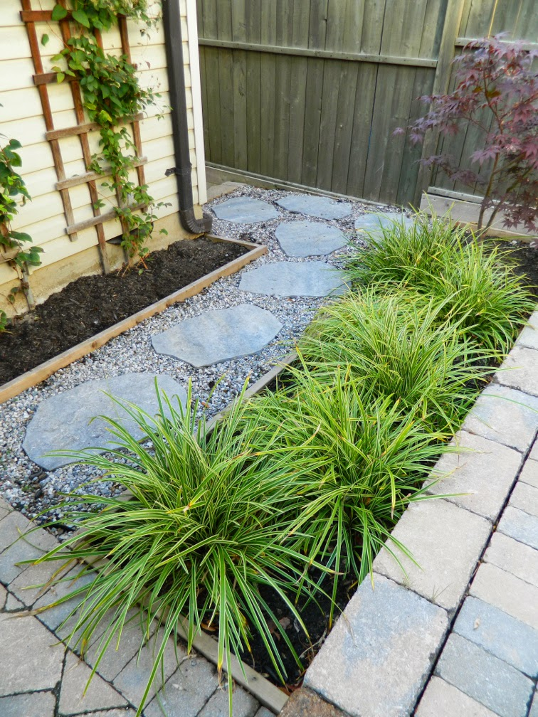 Leslieville garden renovation design after by Paul Jung Gardening Services Toronto