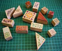 Резиновые штампы на деревянной основе