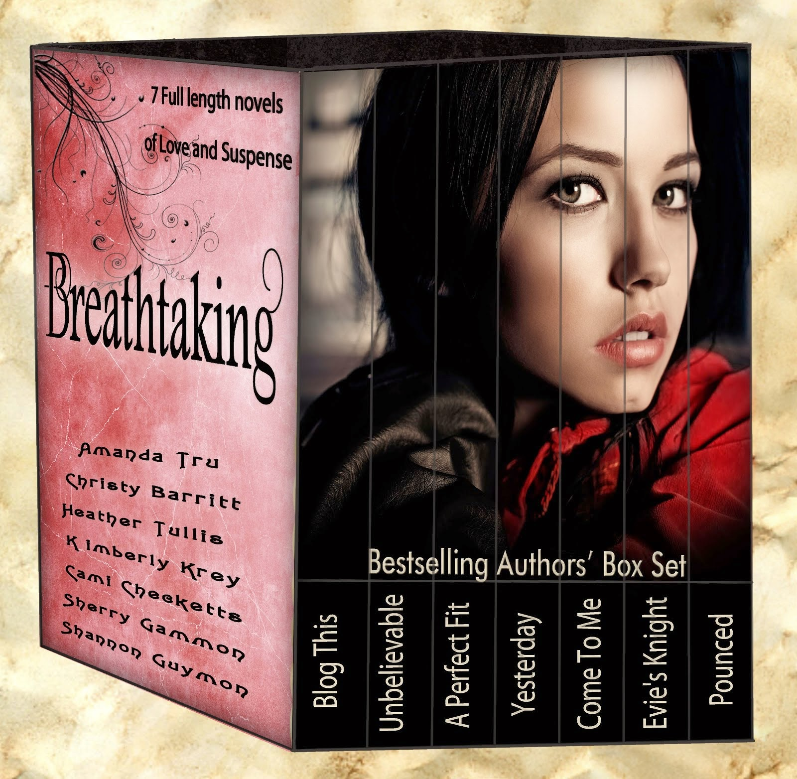Get this 7-novel set for 99 cents now!