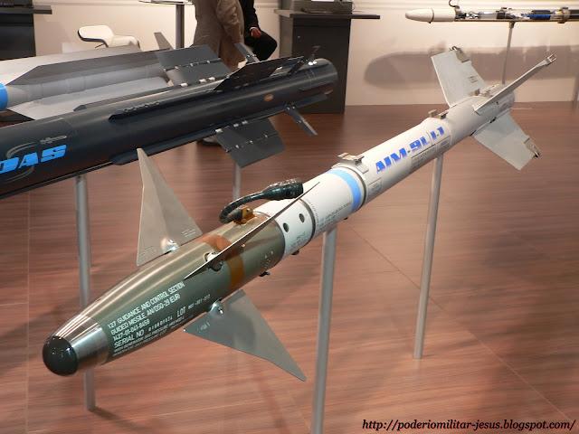 Los 10 misiles aire-aire más avanzados del mundo