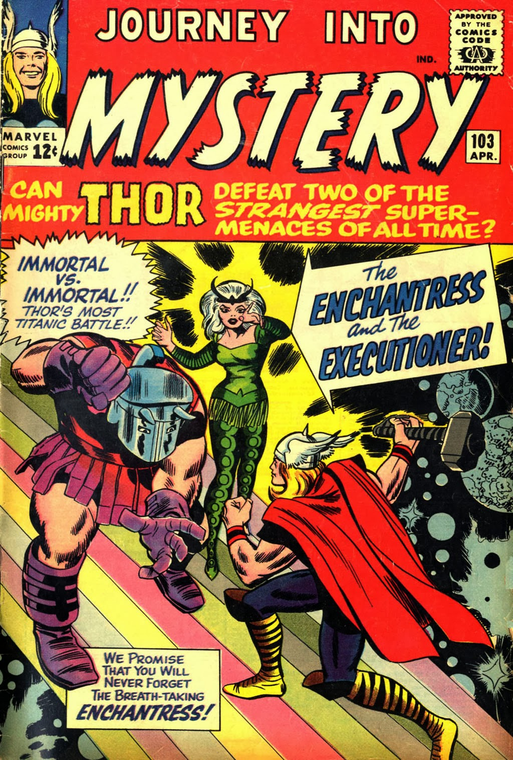 Journey Into Mystery #103 image