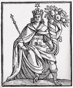 Personificazione dell'Italia di Cesare Ripa (1550 ca.-1622)