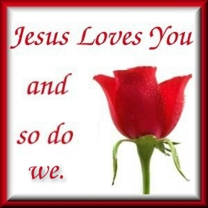 jesus loves you friend