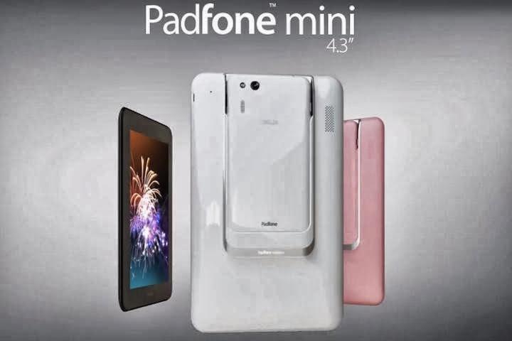 Harga dan Spesifikasi Asus PadFone Mini