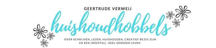 Geertrude Verweij over schrijven, lezen en leven