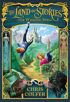 book cover of Wishing Spell by Chris Colfer published by Little Brown