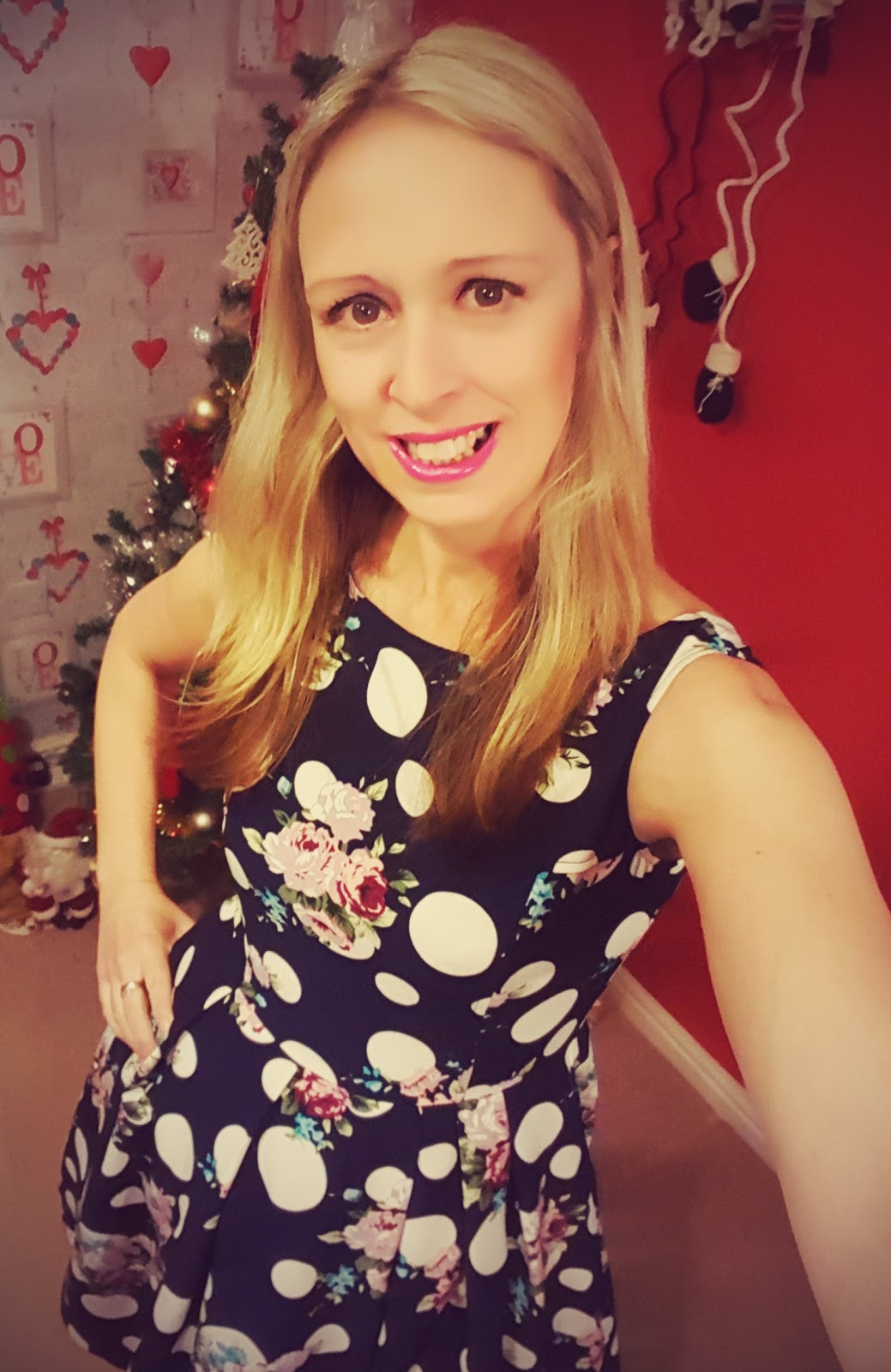 Rockin Around The Christmas Tree In A Polka Dot Dress... - Claire ...