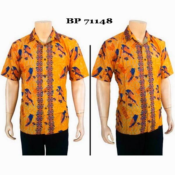 Baju Hem Batik Pria BP71148
