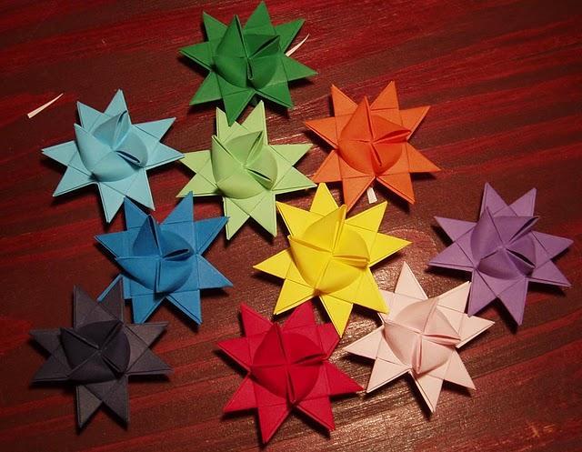 Plastic tac septiembre 2012 - Origami de una estrella ...
