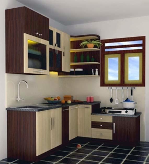 Rancangan dapur minimalis