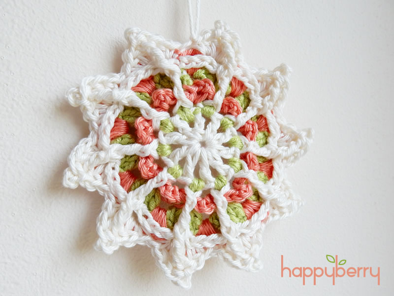 Happy Berry Crochet: Crochet Mandala for Wink