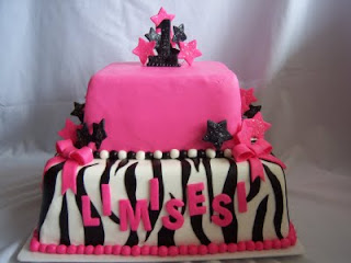 Creative Cakes By Angela Hot Pink Zebra Stripe