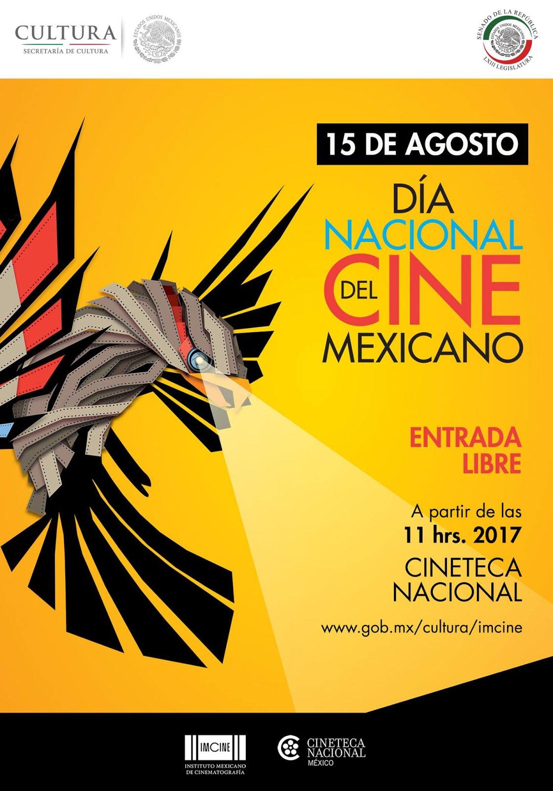 15 de  agosto día Nacional del Cine m´EXICANO