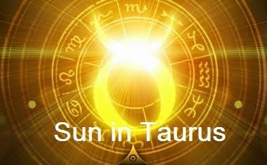 Sun in Taurus
