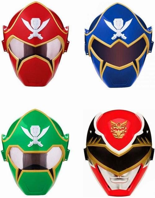 Henshin grid toy week non halloween all year masks - Masque de power rangers ...