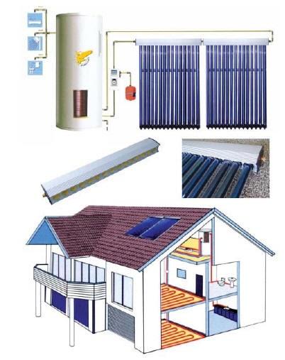 Sistemas de ahorro en calefaccion sistema solar de agua - Ahorrar calefaccion gasoil ...