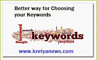 How to Choose a Good Keyword for your Blog Post