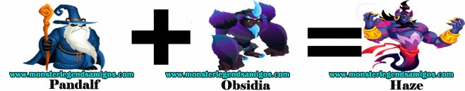 como obtener el monster haze en monster legends formula 2