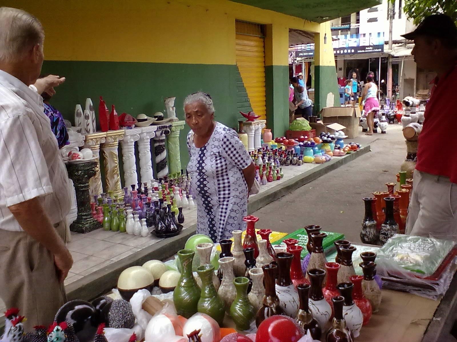 Aparador De Ferro Quadrado ~ SERGIPE EM FOTOS Artesanato em Feira Livre no município de Tobias Barreto