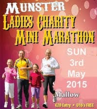 New Ladies mini-marathon in Mallow...Sun 3rd May 2015
