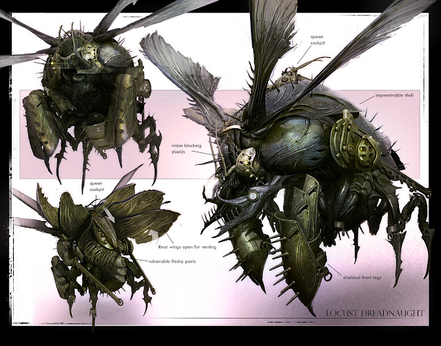 locust dreadnaught concept design