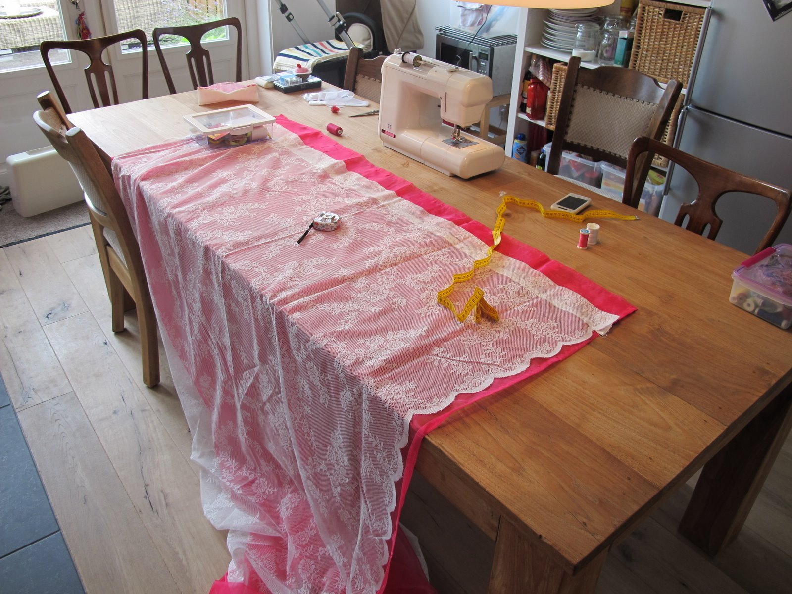 Kaneel Kreatief: The Making Of: Gordijnen