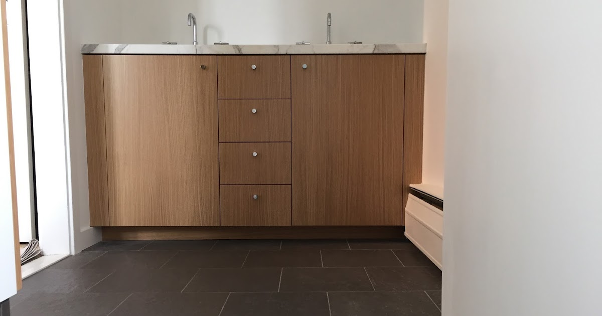 Liz Dunning Design & Woodwork: Rift Sawn White Oak Vanity