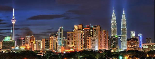 Pusat Kota Kuala Lumpur (KLCC) Malaysia