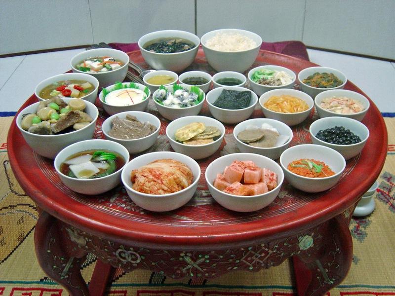 Традиционная корейская еда рецепты