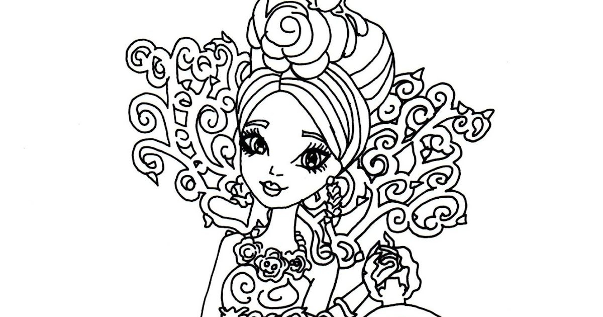 After High Briar Coloring Pages