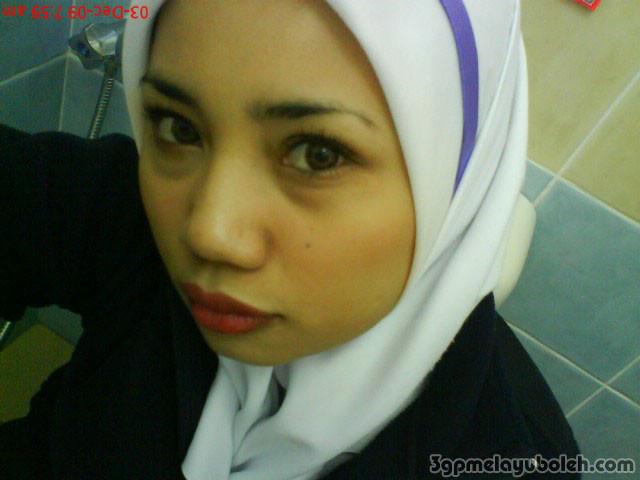image Malay mira sabah bibir munggil