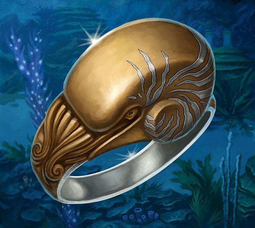 Magic Fantasy Water Ring