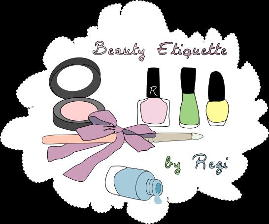 Beauty etiquette
