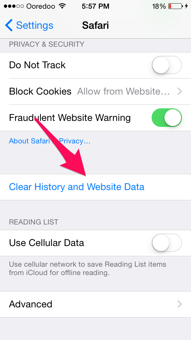 how to delete your history on safari