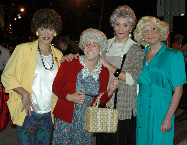 The Golden Girls Group Halloween Costumes