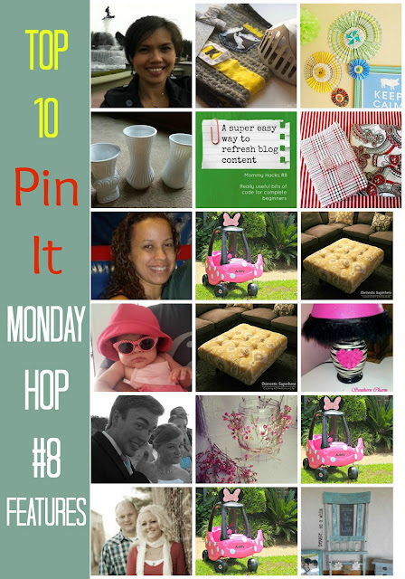 Top 10 Pin It Monday Hop#8 Features