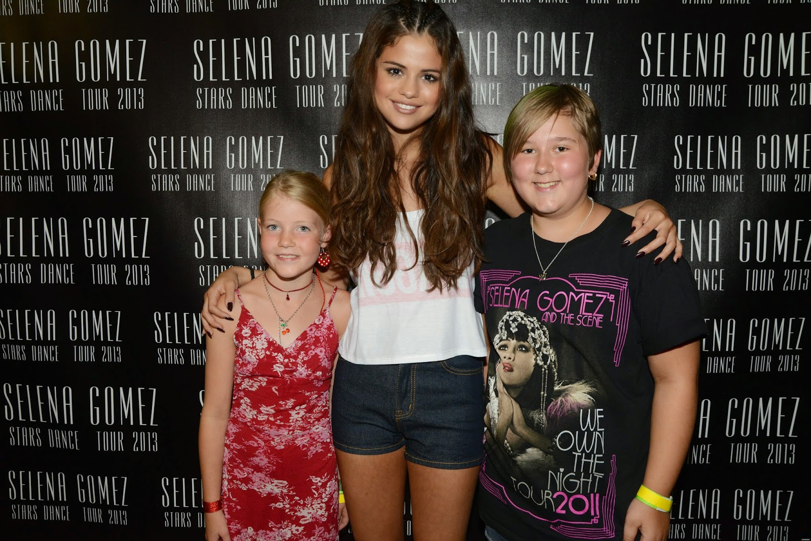 Selena Gomez Style Stars Dance World Tour Meet Greet Lethbridge
