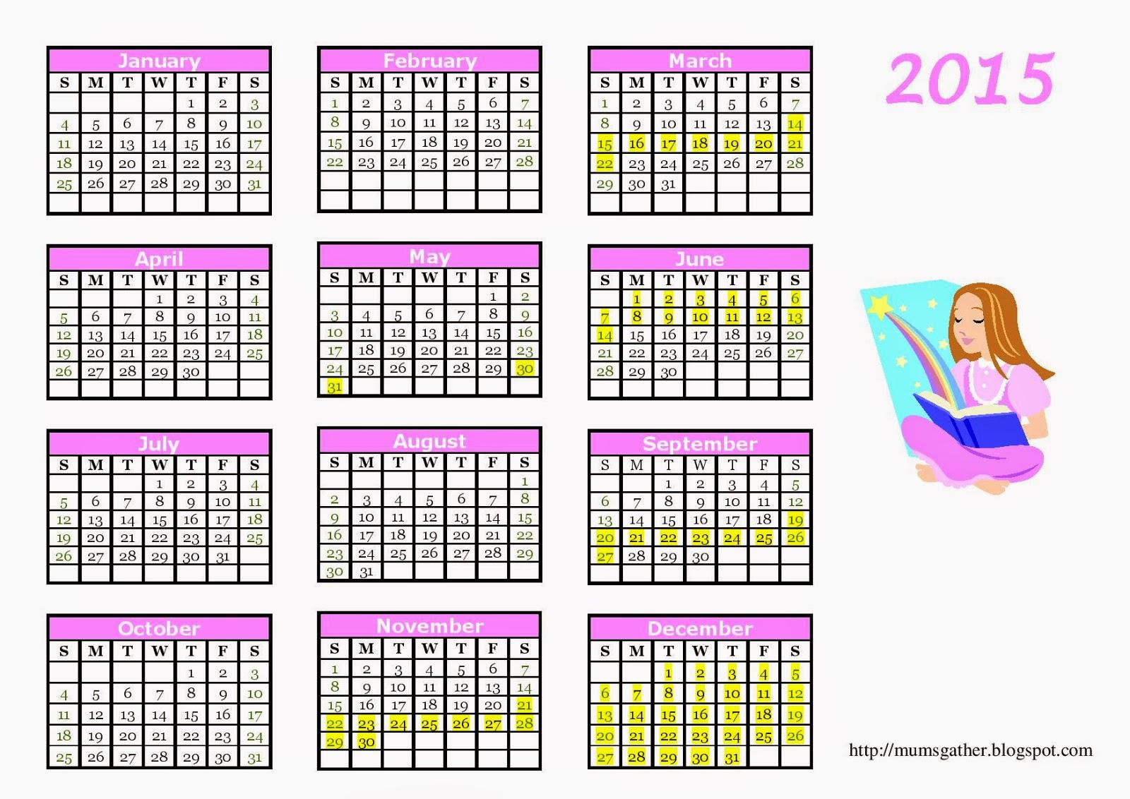 Calendar 2016 Malaysia Public Holiday Selangor   Calendar Template ...