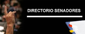 DIRECTORIO DE SENADORES
