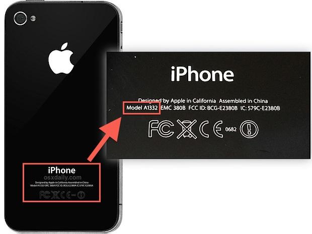 iphone a1332