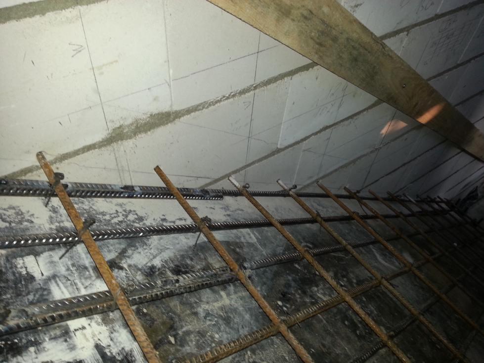 Laiptu betonavimo technologija