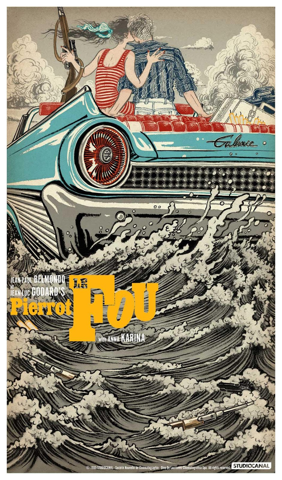 pierrot le fou art and you Pierrot le fou (1965) is a movie genre thriller produced by dino de laurentiis cinematografica was released in france on 1965-08-29 with director jean-luc g.