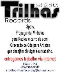 """Stúdio de Gravção Trlhas Records """"Picuí -PB"""""""