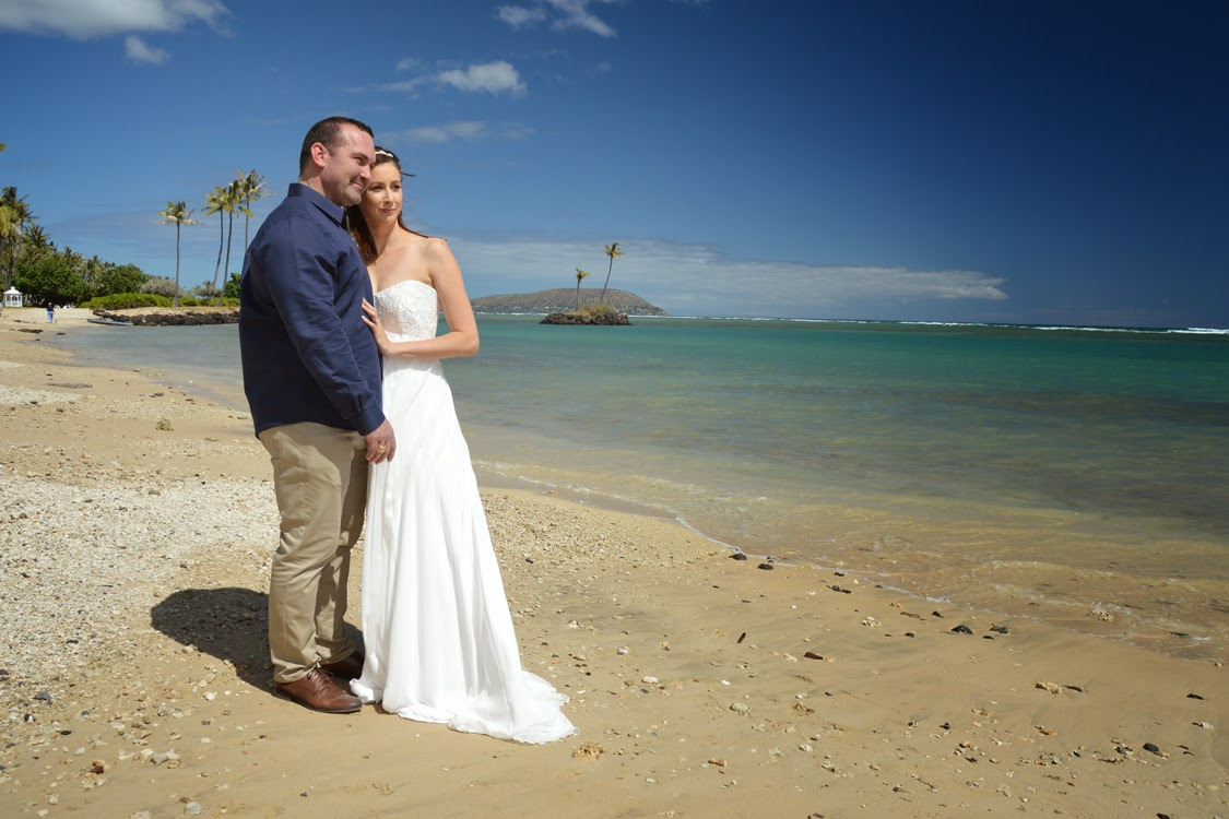 Australian couple marries in Hawaii
