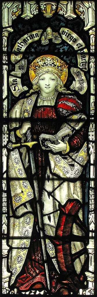 Santa Catarina de Alexandria martir, igreja da Santissima Trindade, Skipton