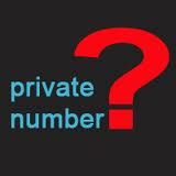cek no hp private number