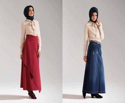 Tuğba&Venn 2014 Kışlık Uzun Etek Modelleri