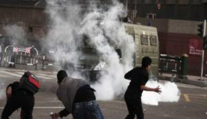 أجهزه أمن السيسي تتبع نفس إسلوب مبارك وتطلق 6 أبريل في الشوارع كلما تظاهر العمال